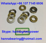 F10-18M Brass Cage Miniature Thrust Ball Bearing with Groove 10x18x5.5mm