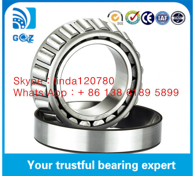 Stainless Single Row Roller Bearing 30205 30206 30207 With Steel Plate Cage