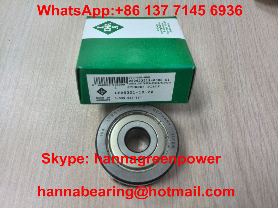 Metal Seal LFR5301-10-2Z Profiled Outer Ring Track Roller Bearing LFR5301KDD 12x42x19mm