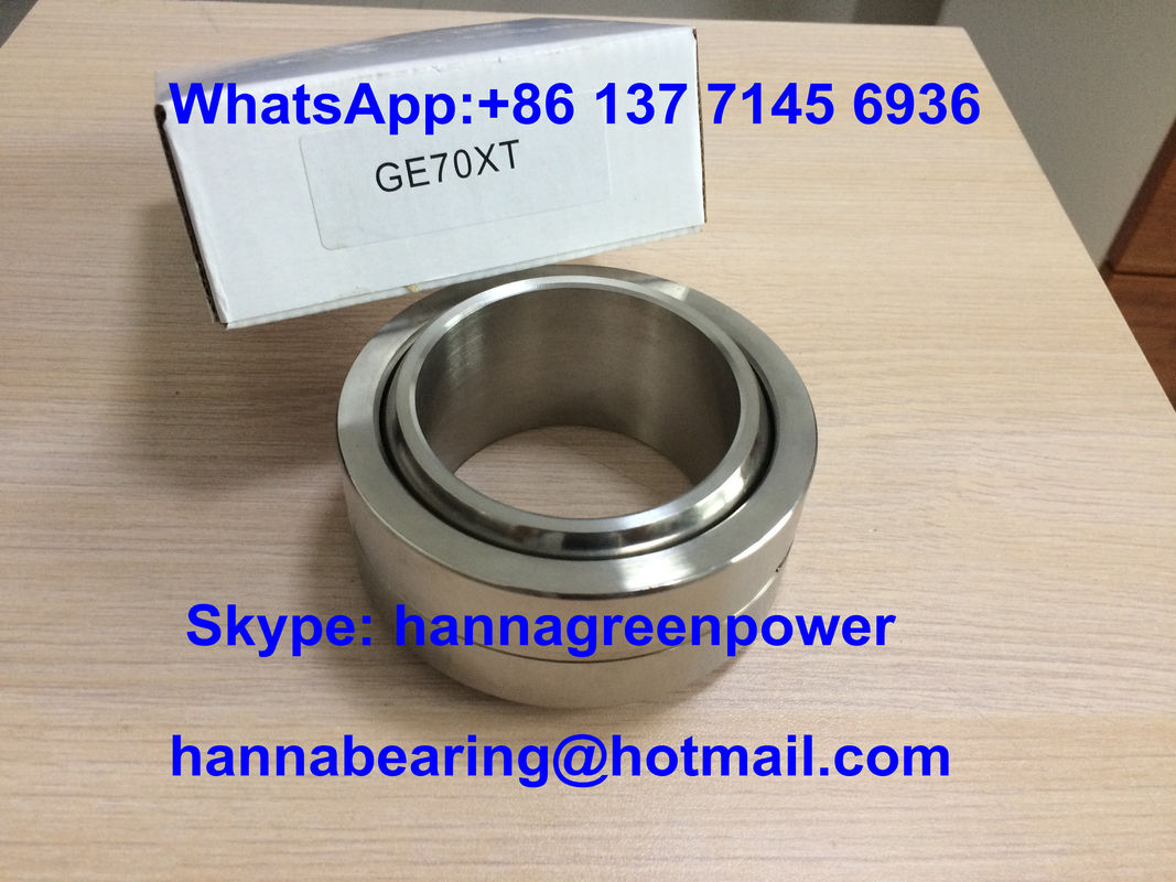 GE70XT Stainless Steel Spherical Plain Bearing GE70XT/X Sliding Bearing 70 * 105 * 49 mm