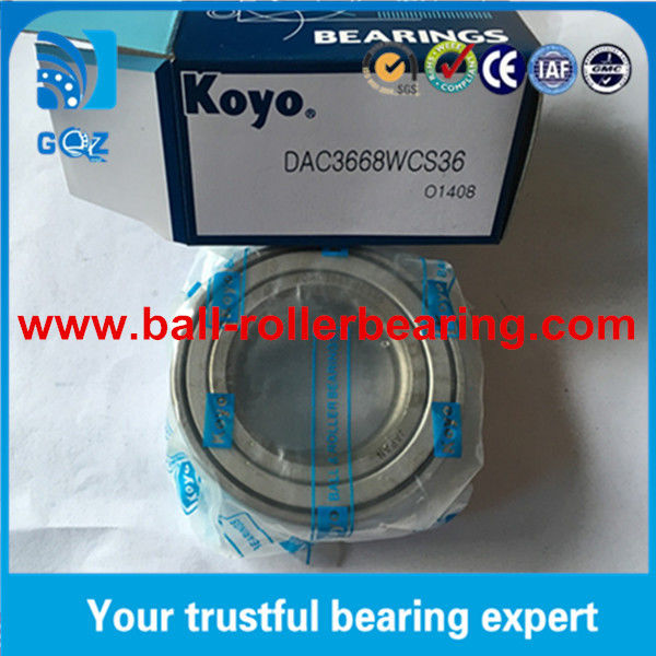 Hub and bearing assembly DAC357245CW2RS 90363-35001 KOYO Wheel bearings