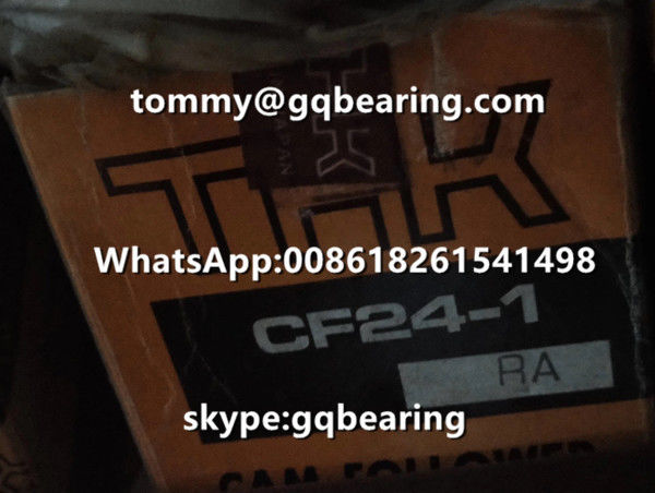 THK CF24-1RA Hexagon Socket Cam Follower Bearing with Spherical Outer Ring