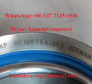 GE 140 TXA-2LS の鋼鉄/PTFE 生地の球形の明白な軸受け手入れ不要の 140x210x90mm